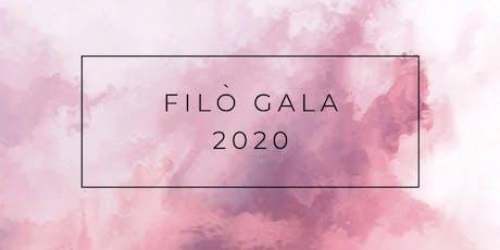 Filò Gala 2020 tickets