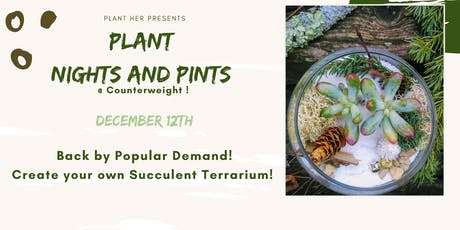 Plant Your Own Holiday Terrarium tickets