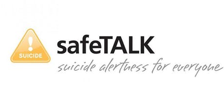 SafeTALK - FREE training provided by WRSPC tickets