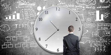 Conférence - Gestion du temps & des priorités & réseautage billets