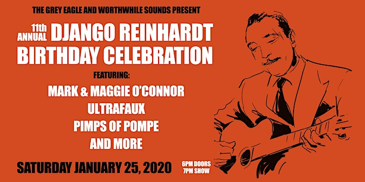 11th Annual Django Reinhardt Birthday Celebration