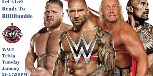 WWE Trivia at Fat Tap Beer Bar & Eatery