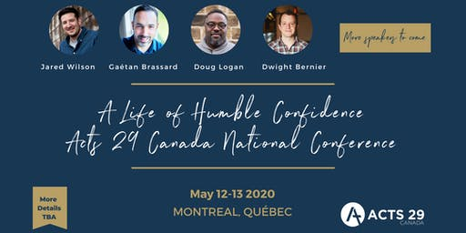 Acts 29 Canada National Conference//Conférence Nationale