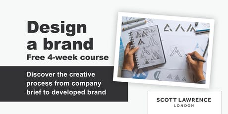 FREE Design a Brand 4-week course (ages 8-19) tickets