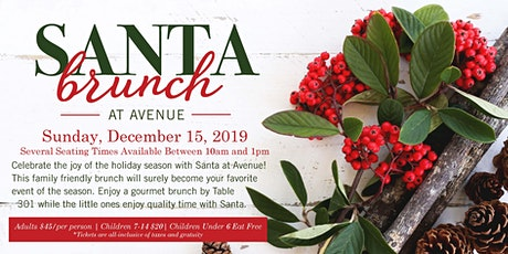 Santa Brunch tickets