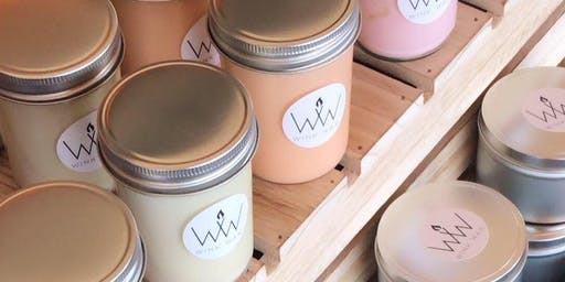 Wink Wax Candle Demonstration & Pop Up Shop