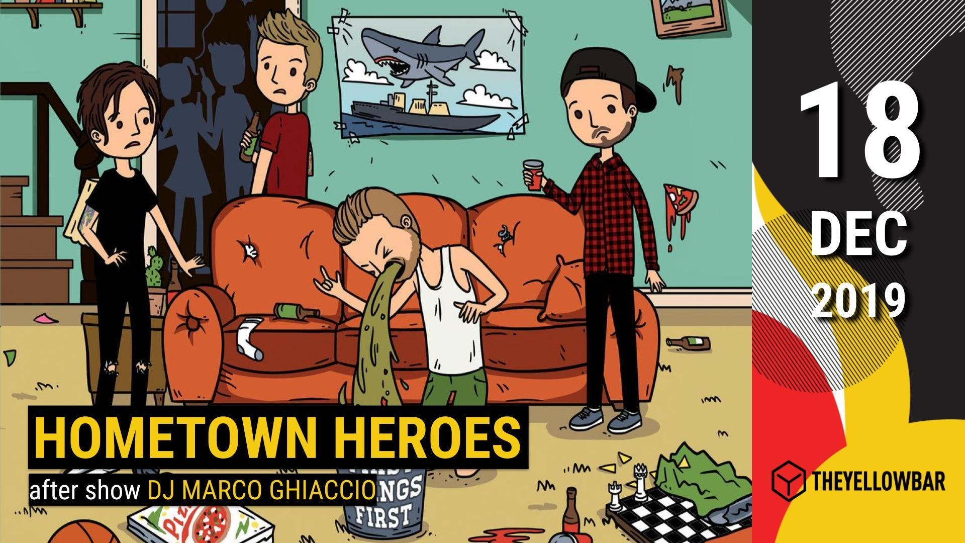 Hometown Heroes - The Yellow Bar