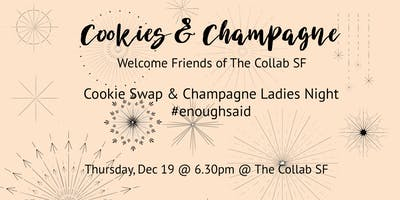 Cookies & Champagne Holiday Party for the Ladies!