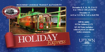 M-Line Trolley Holiday Express