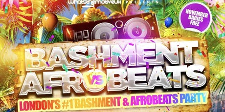 Bashment vs Afrobeats Winter Party tickets