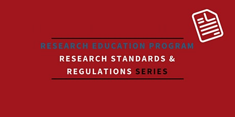 Health Canada regulated trials versus non-regulated research studies:  Similarities and differences in regulatory requirements/legislation tickets