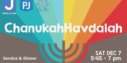 Chanukah Havdalah- Service & Dinner