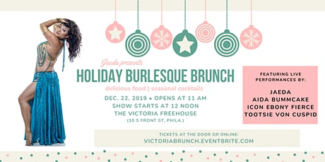 Holiday Burlesque Brunch tickets