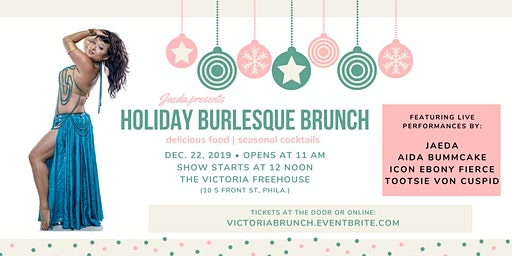 Holiday Burlesque Brunch