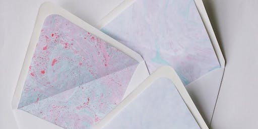 Holiday Paper Marbling Workshop
