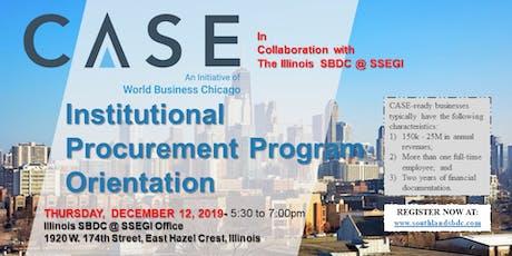 Institutional Procurement Program Orientation tickets