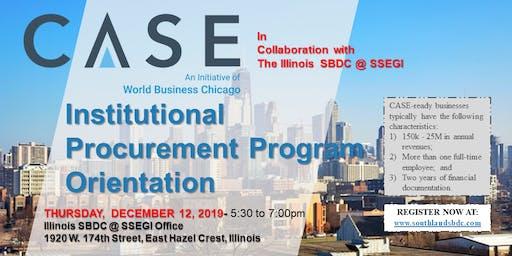 Institutional Procurement Program Orientation