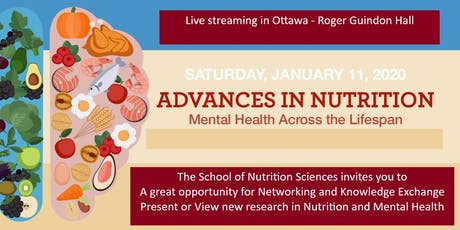 School of Nutrition Sciences Nutrition and Mental Health Research Day tickets