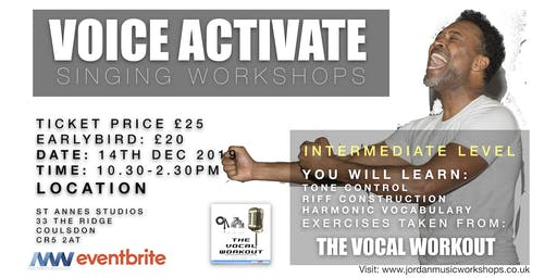VOICE ACTIVATE - THE VOCAL WORKOUT