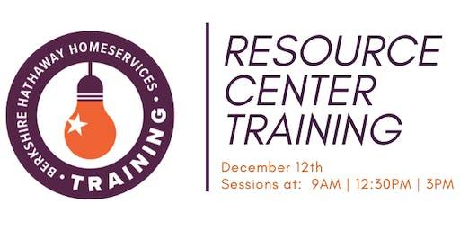 BHHS Resource Center Training