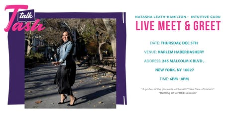 Talk To Tash Live (New York's Favorite Intuitive) tickets