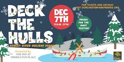 2019 Deck the Hulls Ashley River Holiday Paddle