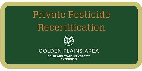 Private Pesticide Applicator Training Julesburg tickets