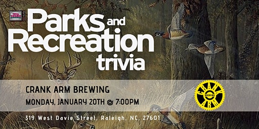 Parks & Rec at Crank Arm Brewing Company