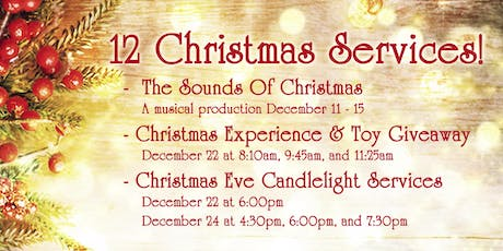12 Christmas Services tickets
