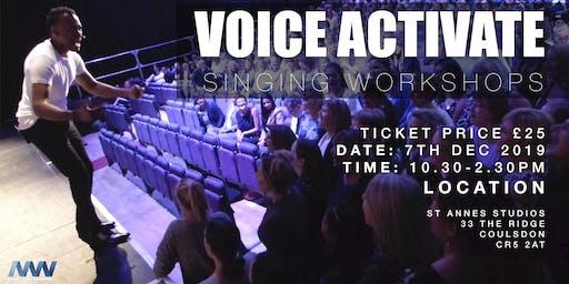VOICE ACTIVATE SINGING WORKSHOP - CROYDON