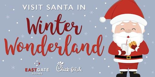 East Gate Square's Winter Wonderland