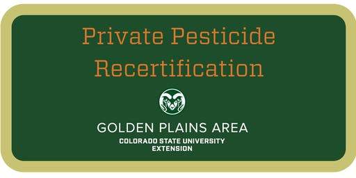 Private Pesticide Applicator Training Burlington