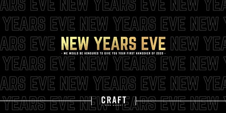 New Year's Eve at CRAFT Beer Market - Kelowna tickets