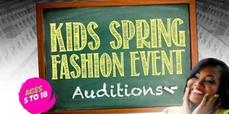 NJP 6th Annual Kids Spring Fashion Event auditions tickets