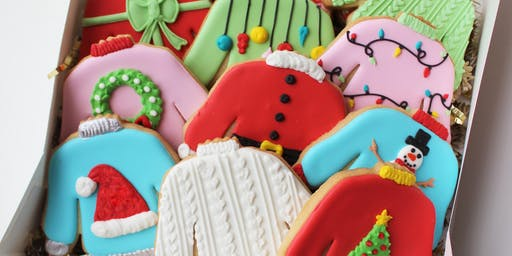 Ugly Sweater Cookie Decorating Workshop