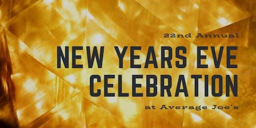 Average Joe's New Year's Eve Celebration