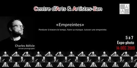 « Empreintes »  5@7 Expo-Photo billets
