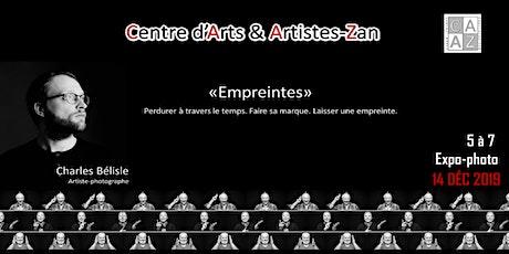« Empreintes »  5@7 Expo-Photo billets