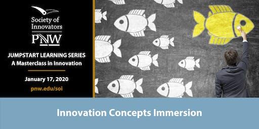 Jumpstart Innovation Masterclass Series #1: Innovation Concepts Immersion