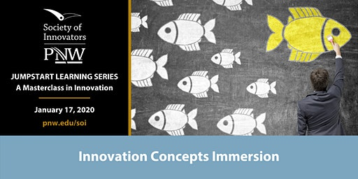 Jumpstart Innovation Masterclass Series #1: Innovation Concepts Immersion