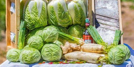 Kimchi and Sauerkraut 3/21/20