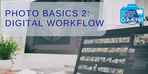 Photo Basics 2: Digital Workflow and Management