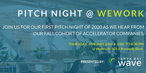 Tampa Bay Wave - Pitch Night @ WeWork