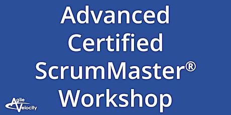 Advanced Certified ScrumMaster Workshop - Austin tickets