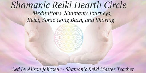 Shamanic Reiki Solstice HEARTH Circle