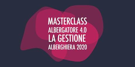Albergatore 4.0 - La gestione alberghiera 2020 biglietti
