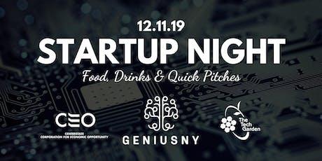 Startup Night tickets