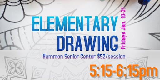 Elementary Drawing Class