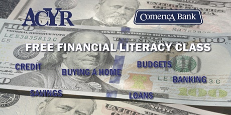 Free Financial Literacy Workshop with Comerica Bank tickets