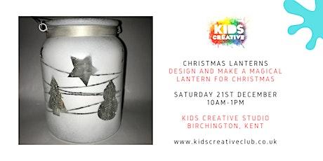 Christmas Lantern Making - Children's Workshop tickets